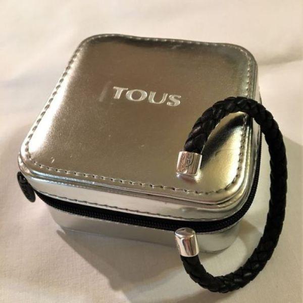 TOUS Silver TS Bracelet
