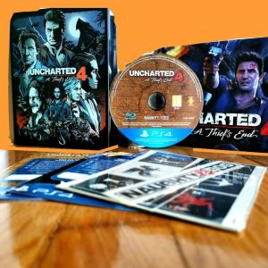Uncharted 4 A Thief's End PS4 (Steelbook)