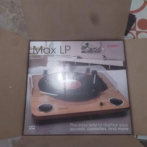 ION Max LP πικάπ + BT amplifier