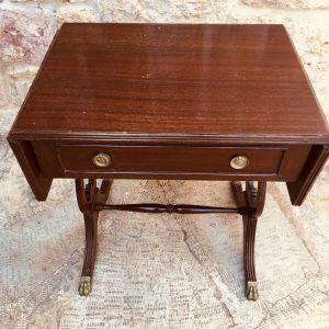 Τραπεζάκι εποχής / αντίκα / vintage / coffee table / με σκαλισματα στο χέρι / Retro / σαλονι / Καθιστικό / μικροεπιπλα