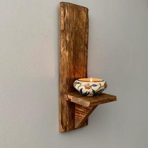 διακοσμητικό τοίχου από ξύλο παλέτας
