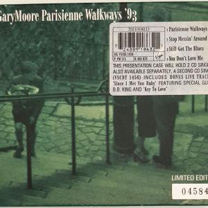 GARY MOORE  PARISIENNE WALKWAYS '93