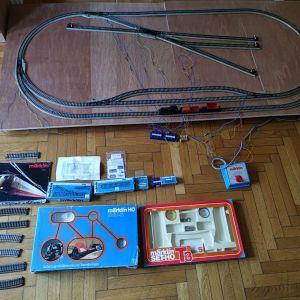marklin HO scale train complete sets S+E+T2+T3