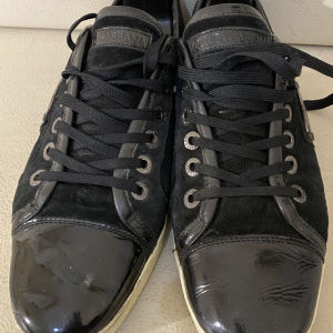 extremely gorgeous genuinely leather lace up by DOLCE&GABBANA size 43 in good shape