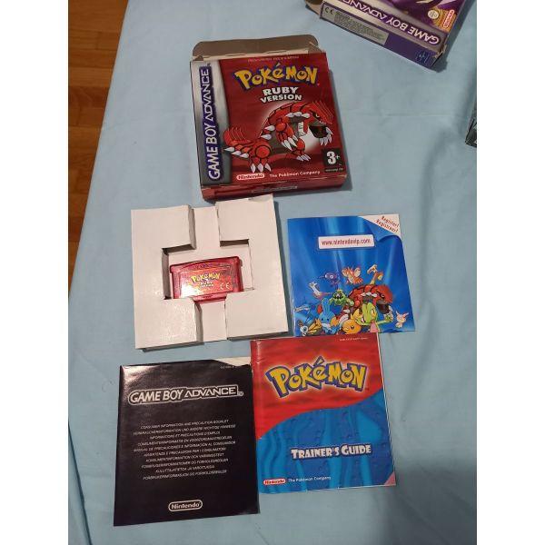 kaseta RUBY POKEMON - (perilamvani kouti kaseta pokemon ke ola ta MANUAL se poli kali katastasi)