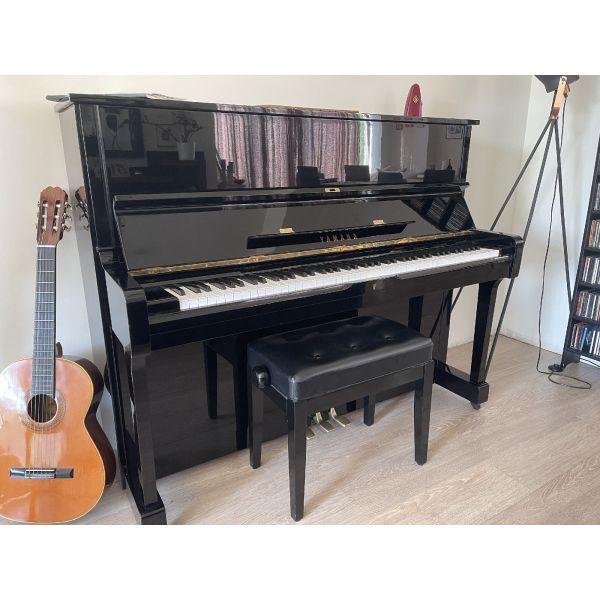 piano Yamaha U1G Reconditioned me engiisi ke pistopiitiko  gnisiotitas. doro to kathisma ke o metronomos, axias 200 evro
