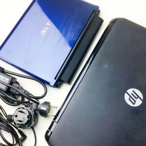 """HP 15-G001SV 15.6"""" + ACER ASPIRE ONE Ao531h - 2 Laptops"""