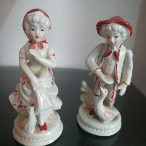αγαλματίδια πορσελάνη vintage
