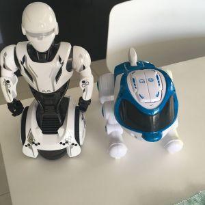 Ρομπότ j1.0  και ρομπότ σκύλος