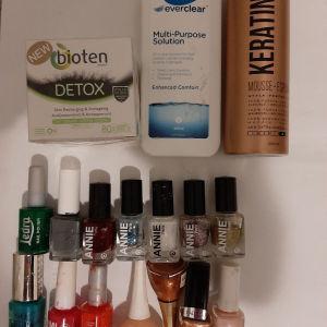 Πωλούνται όλα τα εικονιζομενα καλλυντικά στα 12 ευρώ -κρεμα- αφρος-μανο-υγρό για φακούς επαφής