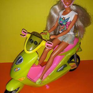 Barbie & μηχανή barbie με ηχο