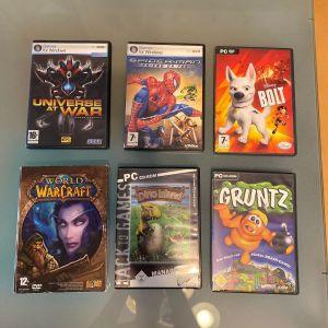 Διαφορα Παιχνιδια για PC (Το καθε ενα 10€)