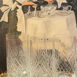 Λεπτά Κρύσταλλα Ποτήρια Πολυτελείας Χειροποίητα