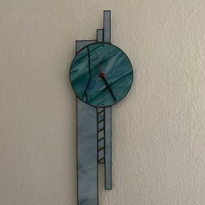 Βιτρώ ρολόι τοίχου