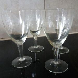 4 Ποτήρια VINTAGE