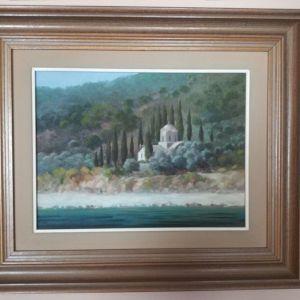 Πίνακας ζωγραφικής με κορνίζα 62Χ51εκ. Σιώζος.