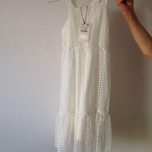 Zara White Lace Dress, New, Size 11/12, 152cm