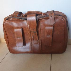 Δερμάτινη βαλίτσα