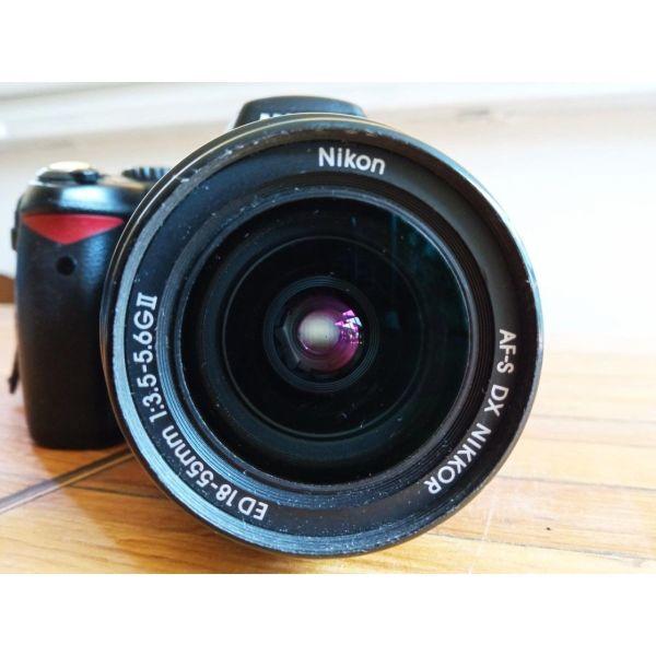 Nikon D80 & fakos Nikon 18-55