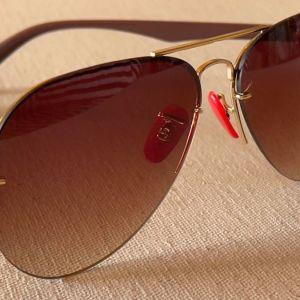 Γυαλιά Ηλίου AVIATOR LS 9812 CAT Μπεζ Φακούς υψηλής απορρόφησης. Καινούρια / Αχρησιμοποίητα. Νούμερο φακού 58. CARBON.
