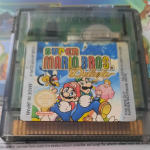 Super Mario Bros Deluxe for GBC