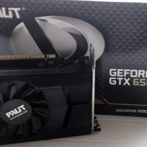 Κάρτα γραφικών Palit GeForce GTX 650ti boost 2GB + δώρο καλώδιο mini HDMI