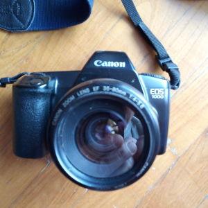 Canon eos 1000.