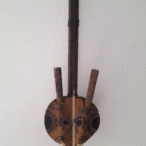 παλια κορα Αφρικής χειροποίητη άρπα/κιθάρα