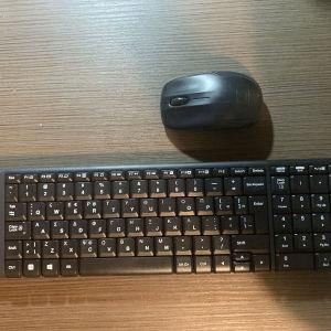 ασύρματο πληκτρολόγιο μαζί με ποντίκι Logitech