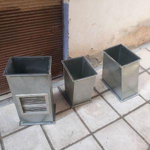 Εξαερισμός με  εξωτερικό box αχρησιμοποίητο για μαγαζί ως 100 τετραγωνικά με περσίδες