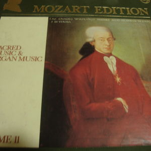 Mozart Edition Sacred Music & Organ music. Volume II