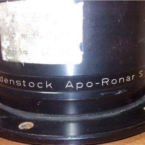 Rodenstock Apo-Ronar S F=650 mm 1:10