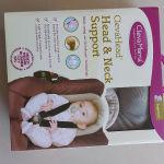 ClevaFoam Μαξιλάρι στήριξης κεφαλιού και αυχένα για μωρά