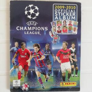 Album UEFA Champions League 2009-2010 Panini