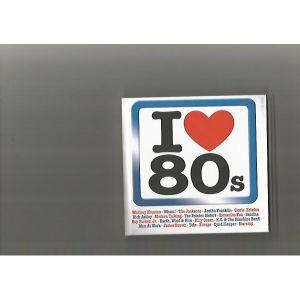 I LOVE 80S-4 CD