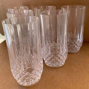 6 κρυστάλλινα ποτήρια cristal d'arques France