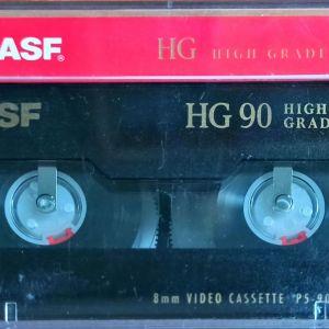 VIDEO Cassette 8 mm