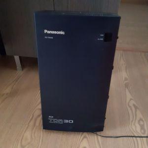 ΤΗΛΕΦΩΝΙΚΟ ΚΕΝΤΡΟ Panasonic TDA30  ΜΕ ΤΗΛΕΦΩΝΙΚΗ ΣΥΣΚΕΥΗ  KX-T7630 ΚΑΙ ΦΑΞ
