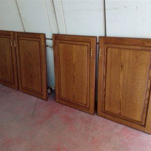 Πόρτες ντουλαπών κουζίνας 4 τεμ.