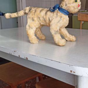 κούκλα γάτα προπολεμική 1920ετιας