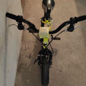 ORIENT Primo 12, mountain bike, κίτρινο, σε πολύ καλή κατάσταση (1 ετους) με βοηθητικές ρόδες