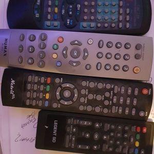 remote controls audio video humax RS591k
