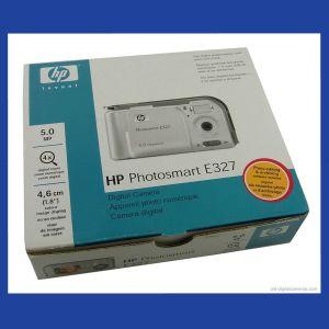 Αγγελιες ψηφιακη φωτογραφικη μηχανη HP Photosmart E327 digital camera 5.0 MP με καλωδιο USB & Microsoft / Macintosh software ολοκαινουργια αχρησιμοποιητη στο κουτι της