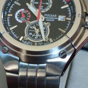 Pulsar chronograph alarm 25mm καινούργιο