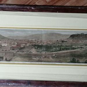 ΑΘΗΝΑ - VIEW OF ATHENS, WITH THE NEW RAILWAY STATION ΓΚΡΑΒΟΥΡΑ