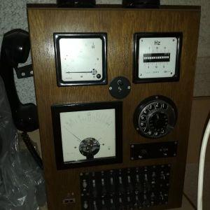 Ξύλινο τηλεφωνικό κέντρο του 1912