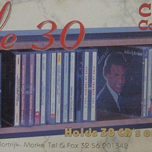 ΞΥΛΙΝΗ ΘΗΚΗ ΓΙΑ 30 CD