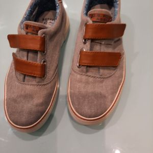 US POLO ΑDRY Παιδικα παπουτσια πανινα N.35 γκρι