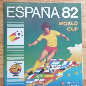 PANINI ΑΛΜΠΟΥΜ ΠΟΔΟΣΦΑΙΡΟΥ ''MUNDIAL ESPANA 82''