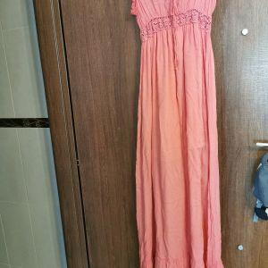 γυναικειο καλοκαιρινό φόρεμα μακρύ bsb